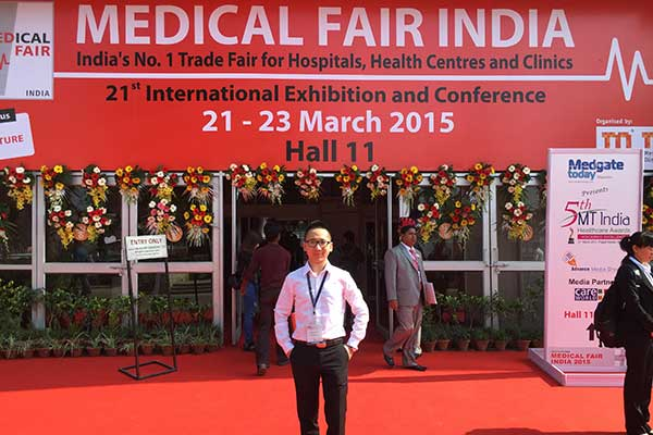 Feira Médica Índia